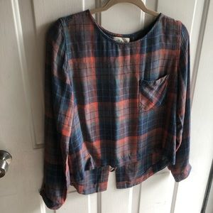 Cloth & stone super soft and cozy oversized shirt